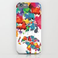 Paint Elephant iPhone 6 Slim Case