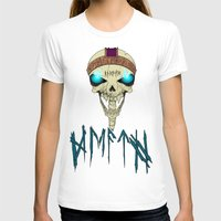 Death To The Living! Womens Fitted Tee White SMALL
