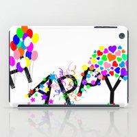 Just Happy iPad Case
