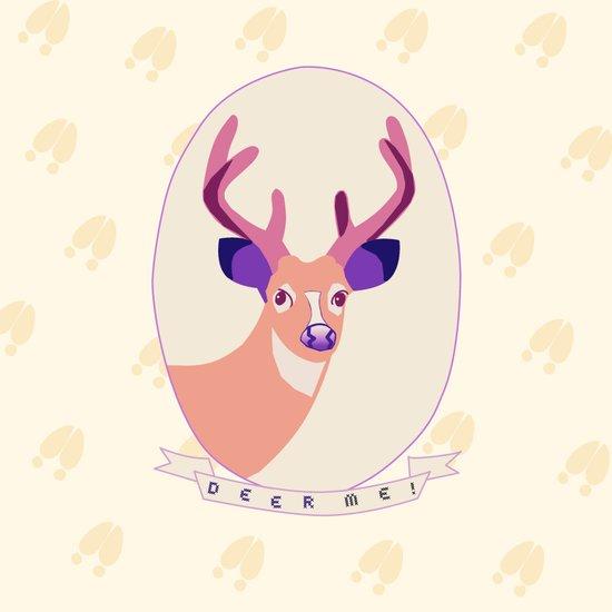 Deer Me Art Print