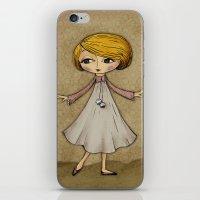 Julia Loves Dancing iPhone & iPod Skin
