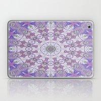 Jungle Kaleidoscope Amethyst Laptop & iPad Skin