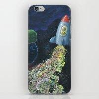 Rocket Man iPhone & iPod Skin