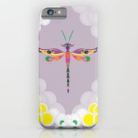 iPhone & iPod Case featuring Dragon Fly by KASSABLANKA