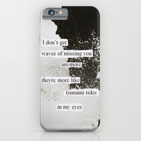 tsunami tides in my eyes iPhone 6 Slim Case