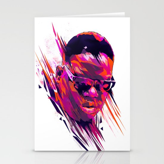 The Notorious B.I.G: Dead Rappers Serie Stationery Card