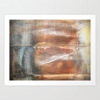 Wood Texture #2 Art Print