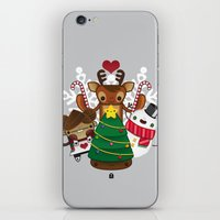 Merry Christmas Chestnut Girl!!! iPhone & iPod Skin