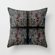 Abstrusion 2 Throw Pillow