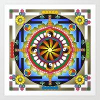 Mandala17 Art Print