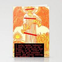 Temperance Bynes Stationery Cards