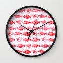 Cosmic Fish Wall Clock