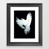 Crows Framed Art Print