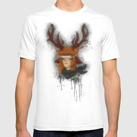 Hans Mens Fitted Tee White SMALL