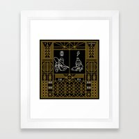 Let's Get Dangerous  Framed Art Print
