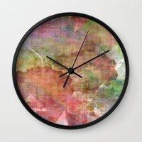 Abstract Me Wall Clock
