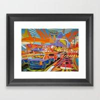 Rio De Janeiro Framed Art Print