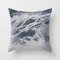 Rustic Surface 3 Throw Pillow