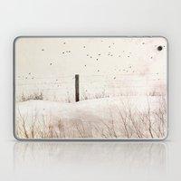 Roadside Fence Laptop & iPad Skin