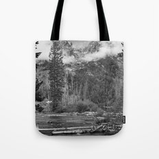 Birch Hallow, Teton Mountains Tote Bag