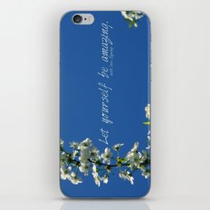 lovely message from Spring iPhone & iPod Skin