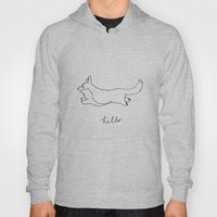 Cardigan Welsh Corgi  -  Pembroke corgi with tail Hoody