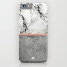 Marble Concrete fusion iPhone 6 Slim Case