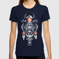 Shogun Executioner Womens Fitted Tee Navy SMALL