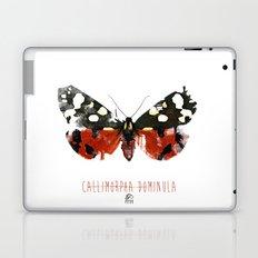 Butter flies - Callimorpha_Dominula Laptop & iPad Skin