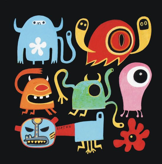 Petites créatures Canvas Print