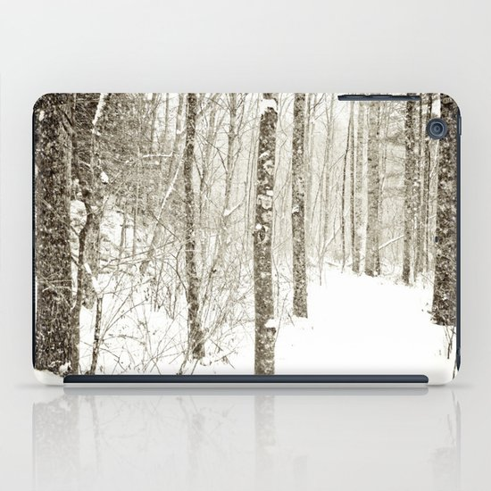 Wintry Mix iPad Case