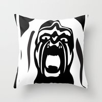 YEBO WARRIOR Throw Pillow