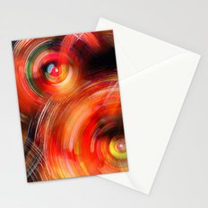 Secret Neural Pathways of an FM Synth #abstract Stationery Cards