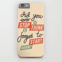 iPhone & iPod Case featuring Ever Stop by eugeniaclara