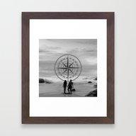 Love Infinity Framed Art Print