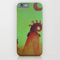 Plants and Moon iPhone 6 Slim Case