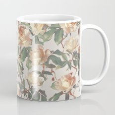 Soft Vintage Rose Pattern Mug
