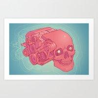 An Unquieted Mind Art Print