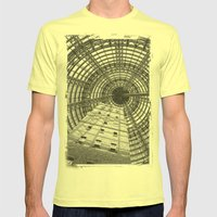 To The Point Mens Fitted Tee Lemon SMALL