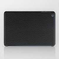 Black Leather case iPad Case