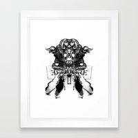 ERGOGRE Framed Art Print