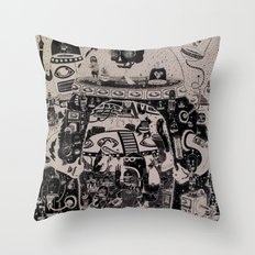 Contacto Real Throw Pillow