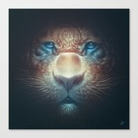 Red Tiger Canvas Print