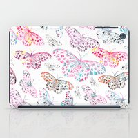 Marbling Butterflies iPad Case