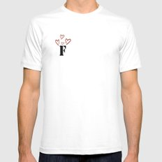 Ff Mens Fitted Tee White SMALL