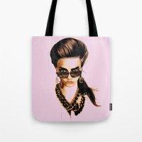 Fashion Illustration - G… Tote Bag