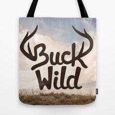Buck Wild Tote Bag