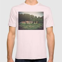 Belgium Mens Fitted Tee Light Pink SMALL