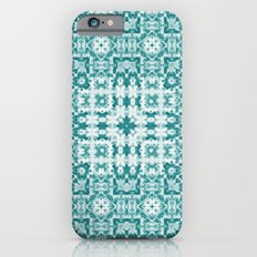 Aquatica Teal Kaleido iPhone 6 Slim Case