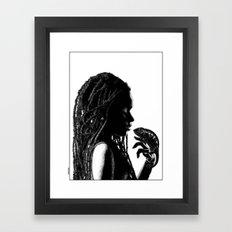 asc 659 La transformation (An african tale) Framed Art Print